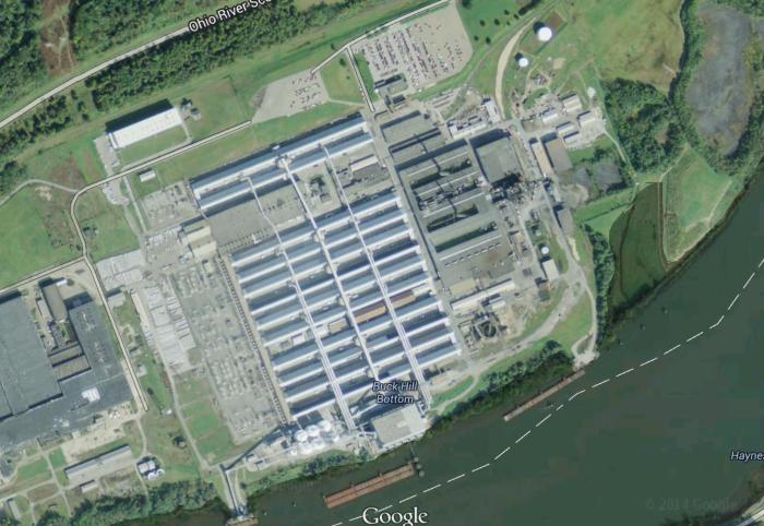Former Ormet Aluminum Refinery